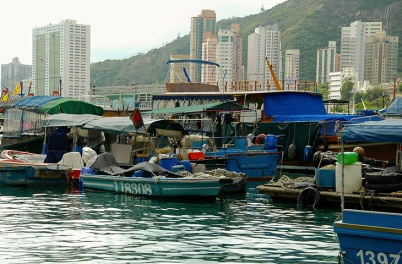 Hong Kong, the fragrant harbour