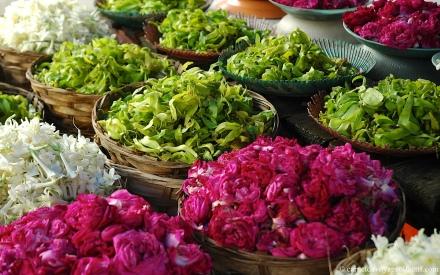Marche aux fleurs, Surabaya