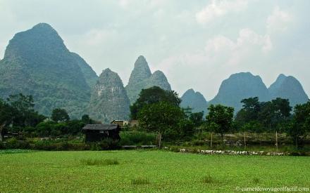 Province de Yangshuo, Chine du sud