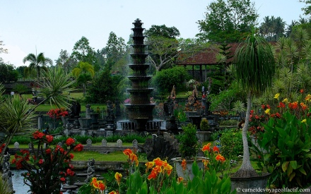 Le jardin de Tirta Gangga, Bali