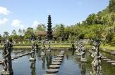A walk in Tirta Gangga garden